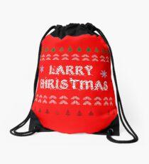 Larry Christmas Drawstring Bag