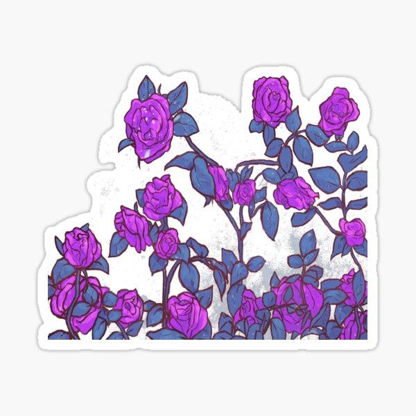 Shekinah Guab X T.Kanero - Purple Roses Sticker