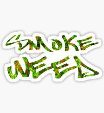 Smoke Weed (Weed Window) Sticker