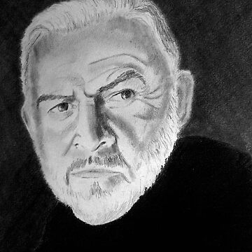 Sir Connery's Portrait by Annartiste