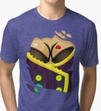 Moxxi - Purple Tri-blend T-Shirt