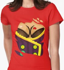 Moxxi - Purple Women's Fitted T-Shirt