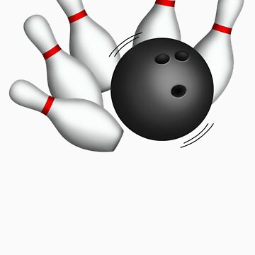 Bowling Ball and Pins by Starzraven
