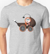 Cute Halloween Baby Carriage Unisex T-Shirt