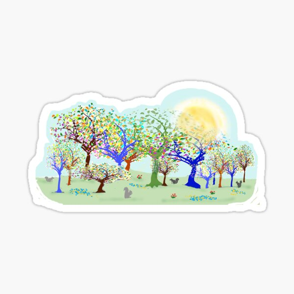 spring park Sticker