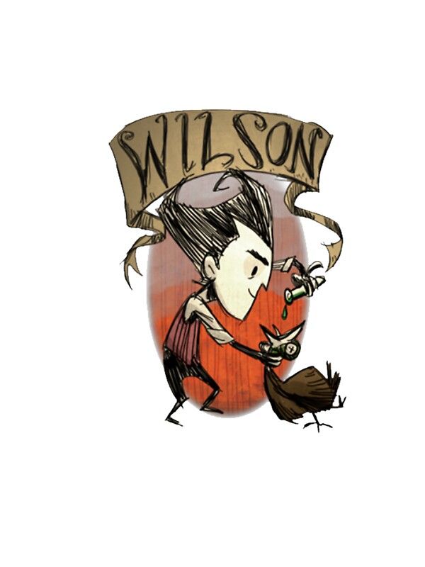Quot Don T Starve Wilson Quot Stickers By Alemag Redbubble
