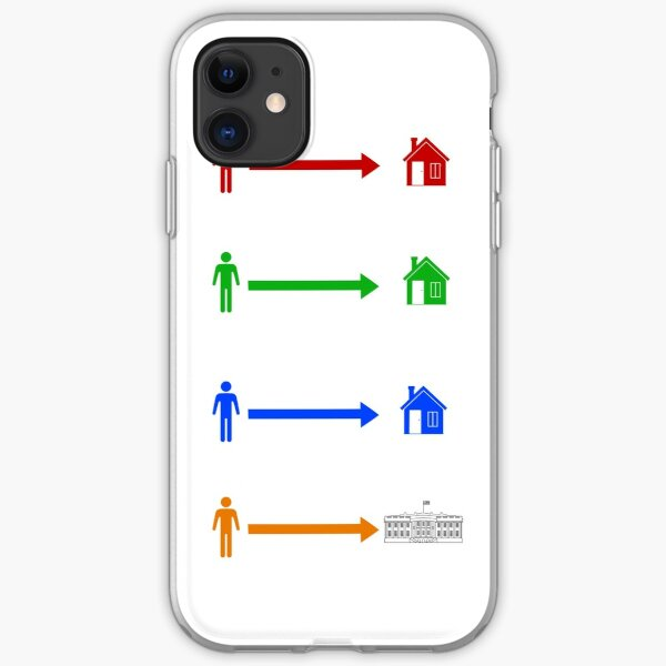 The Orange Man Lives In The White House iPhone Soft Case