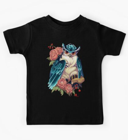 Irezumi Owl 002-001 Kids Clothes