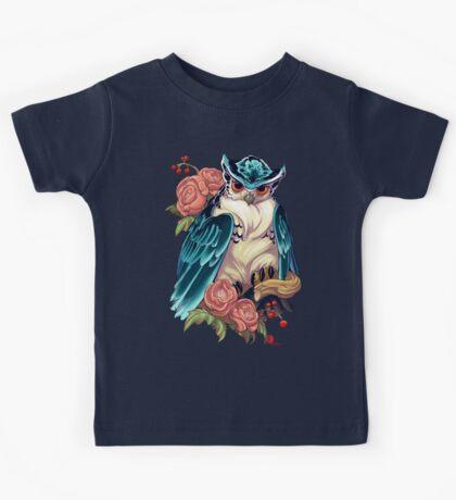 Irezumi Owl 002-001 Kids Clothes