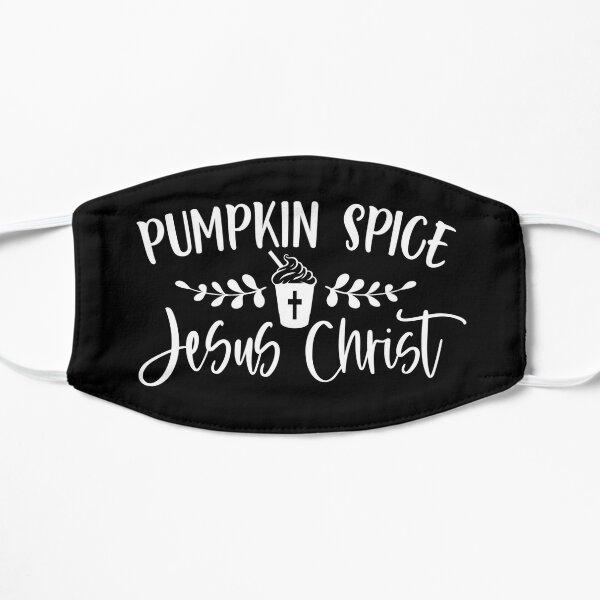 Pumpkin Spice and Jesus Christ Mask
