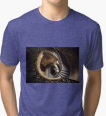 Abandoned spiral staircase Tri-blend T-Shirt