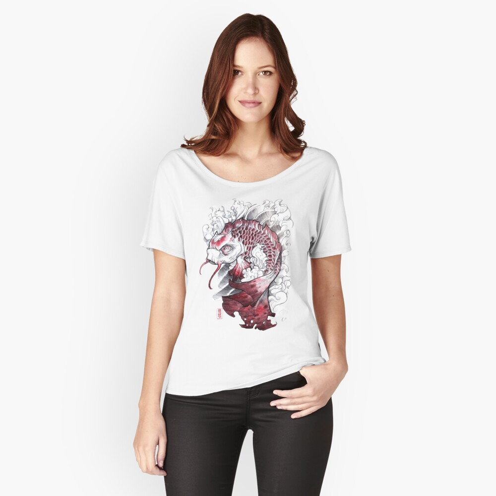 shigeki.zumi: tattoo sketchbook: 008 Women's Relaxed Fit T-Shirt Front