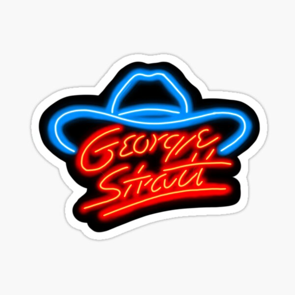 George Strait- the KING of country music Sticker