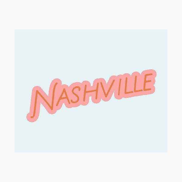 Nashville Tennessee Photographic Print