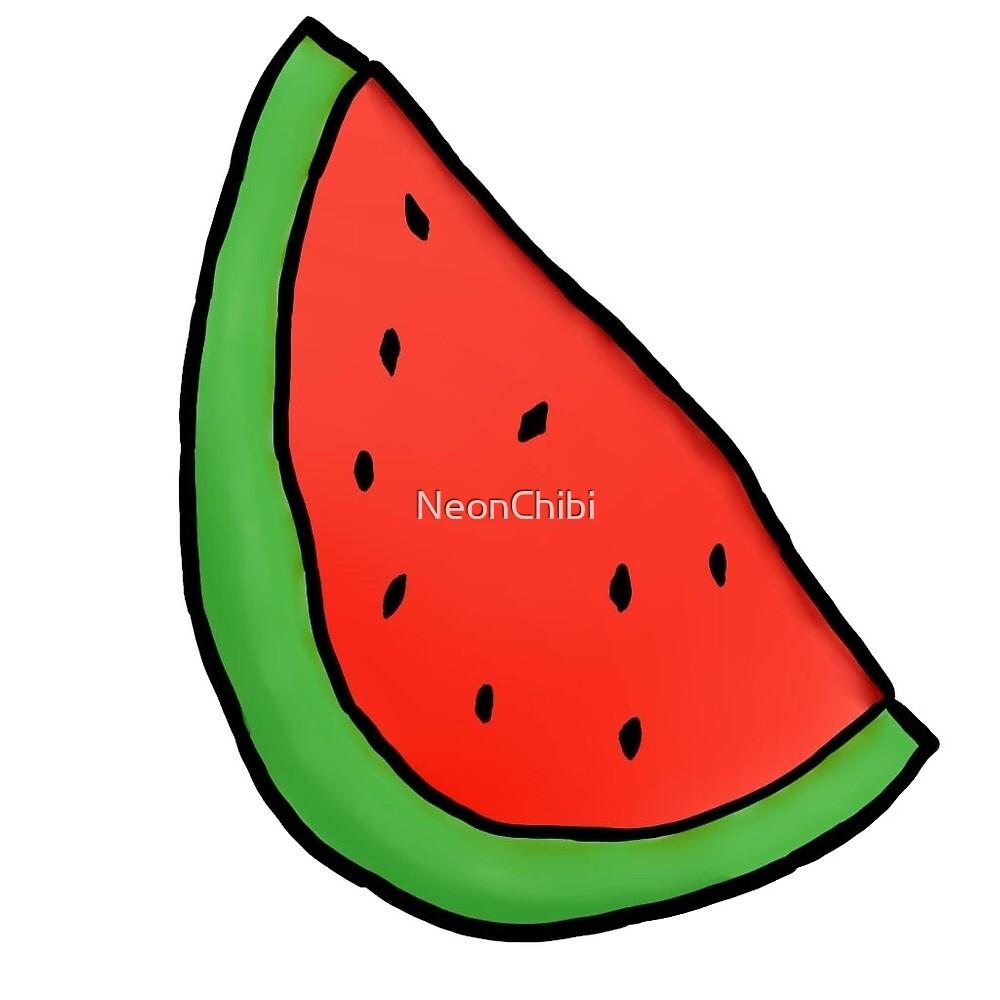 Tumblr Watermelon by NeonChibi