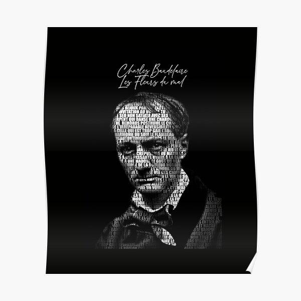 Charles Baudelaire - Les Fleurs du Mal Poster