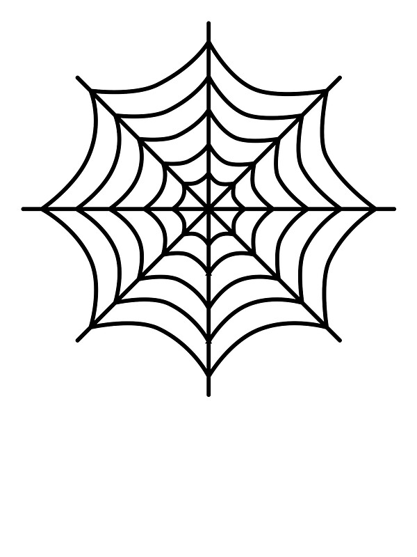 Quot Cartoon Spiderweb Quot Stickers By Lucid Reality Redbubble