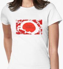 Insane MeBrain Splatter logo Women's Fitted T-Shirt
