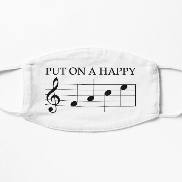 Put On A Happy F A C E Music Key Note  Mask
