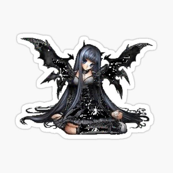 Mall Goth Stickers Redbubble