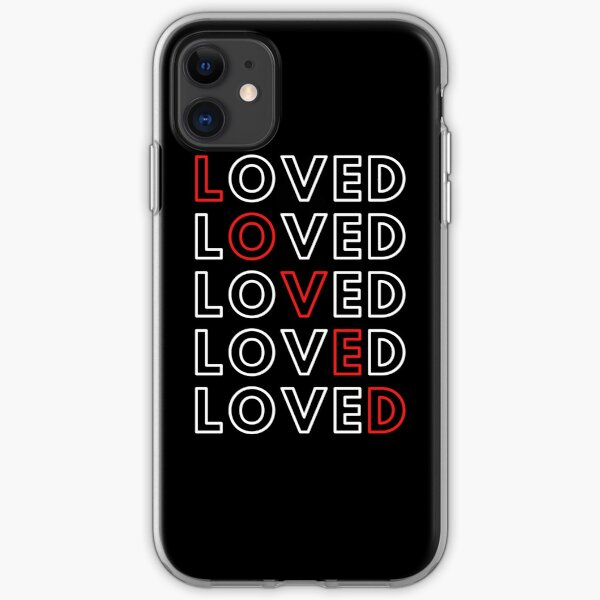I am Loved! iPhone Soft Case