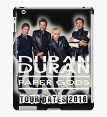 Duran Duran Paper Gods Tour Dates 2016 iPad Case/Skin