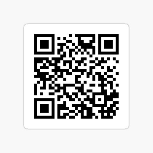 Good Place Every Reboot Ever QR Code Sticker