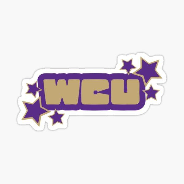 western carolina (wcu)  Sticker