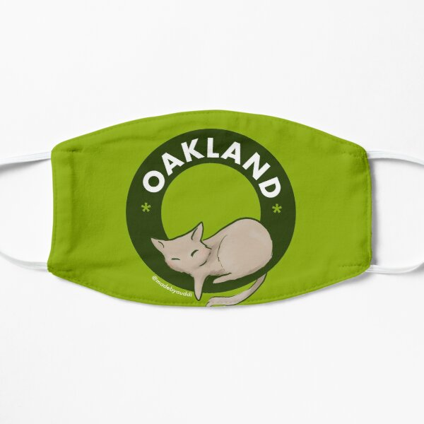 Cool cats live in Oakland Mask