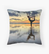 Yogi Throw Pillow