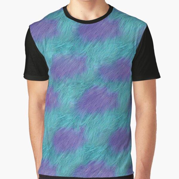 Sully Fur Monsters Inc. Grafik T-Shirt