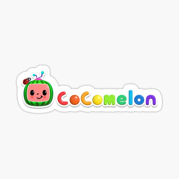 Cocomelon Stickers Redbubble The cocomelon logo, text only. redbubble