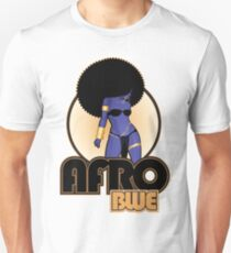 AFRO BLUE 2014 Slim Fit T-Shirt