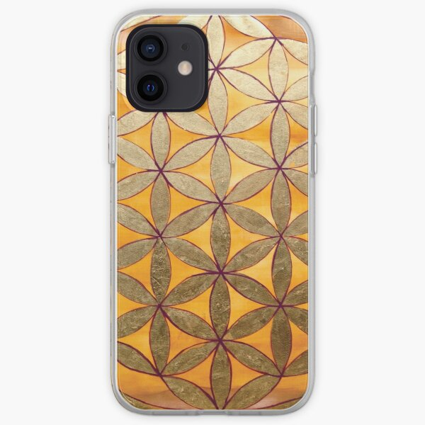 Flower of Life iPhone Soft Case