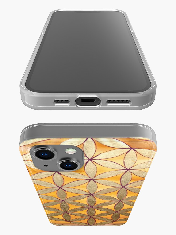 Alternate view of Flower of Life iPhone Case