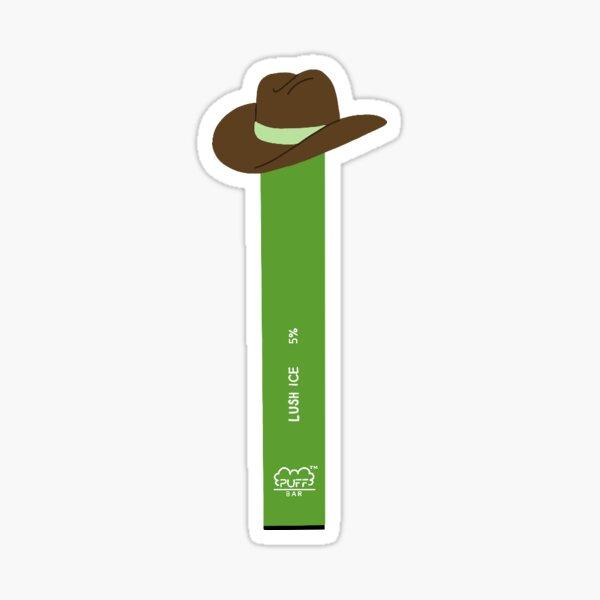 Puff Cowboy Sticker