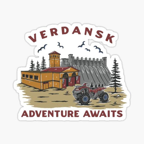 Comercial de turismo de Verdansk Pegatina