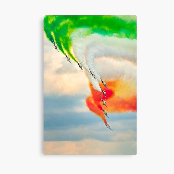 Le Frecce Tricolori Canvas Print