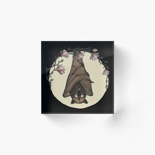 Bat Crazy Acrylic Block