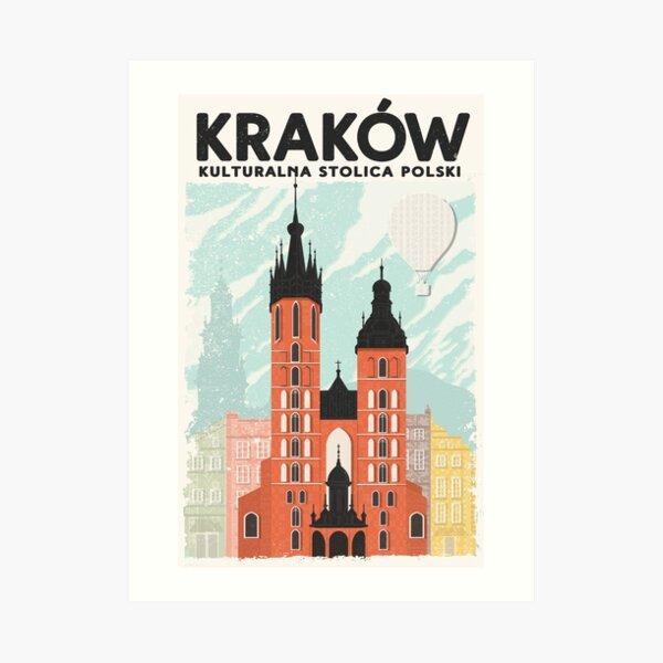 Krakow: Kulturalna Stolica Polski Art Print