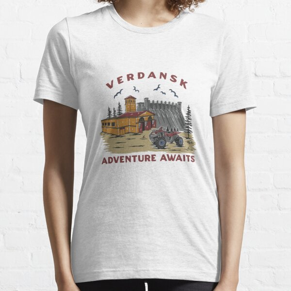 Verdansk tourism commercial T-shirt essentiel