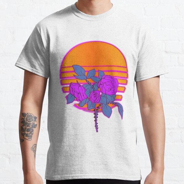 Shekinah Guab X T.Kanero - Purple Roses Vintage Set Classic T-Shirt