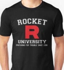 Team Rocket University T-Shirt
