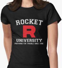 Team Rocket University Women's Fitted T-Shirt
