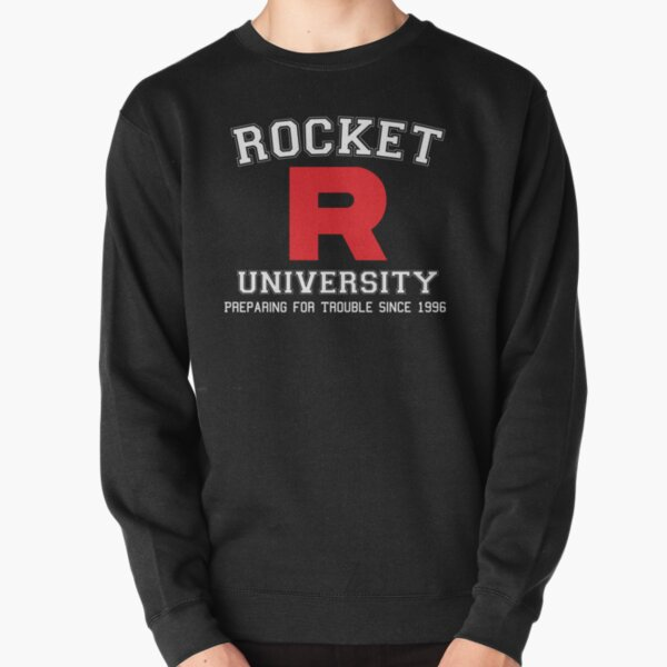 Team Rocket University Pullover Sweatshirt