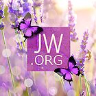 JW.ORG (Purple Butterflies) by JW ARTS & CRAFTS