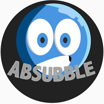 Absubble Shirt - Design 2 by Absubble