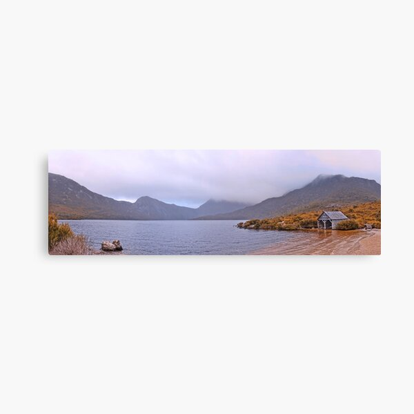 Dove Lake and Cradle Mountain - Lake St. Clair National Park Canvas Print