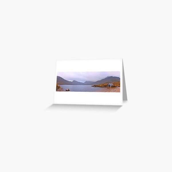 Dove Lake and Cradle Mountain - Lake St. Clair National Park Greeting Card