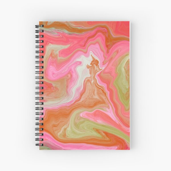Taffy Spiral Notebook